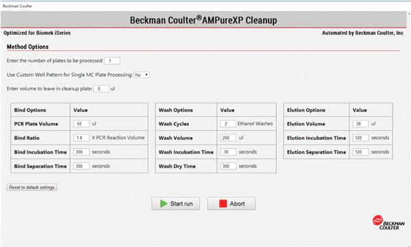 Настройки запуска протокола. Пользователь может выбрать, какую часть метода запустить, а также количество образцов, тип планшета, сколько повторностей и информацию о стандартах.
