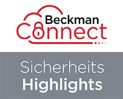 BeckmanConnect-Security Highlights-DE