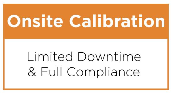 Onsite Calibration Service Plan