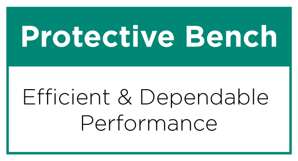 Protective Bench Service Banner