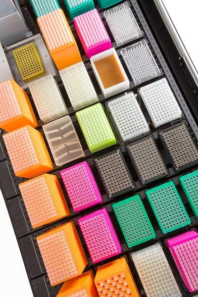 Biomek i-Series mit großen flexiblen Deckkapazitäten