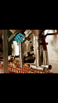 Food and beverage production line